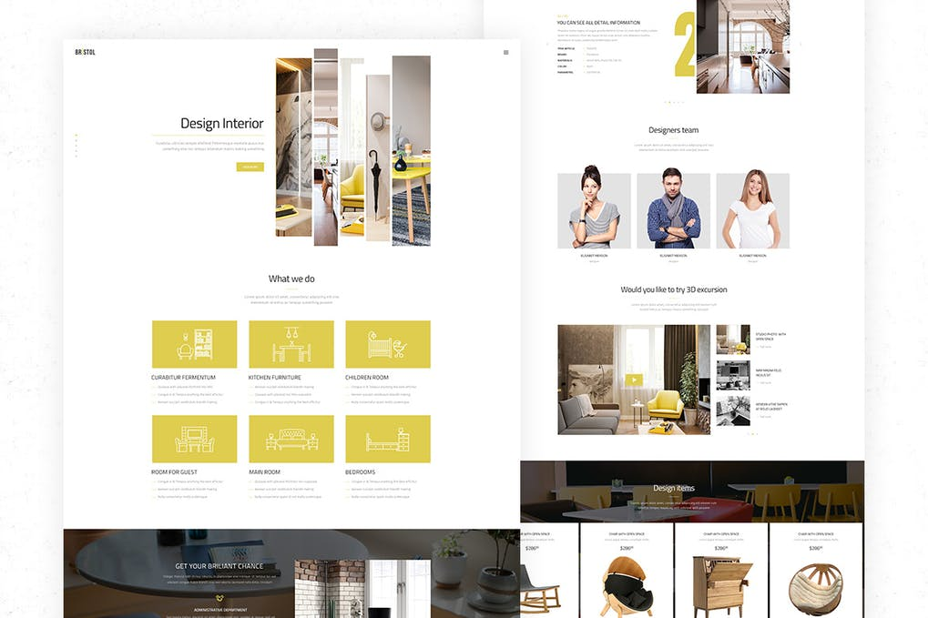 Free e-commerce HTML template for download